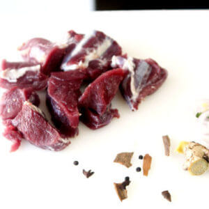 Buy Halal Raw Goat Mutton (fresh meat) Online at Bhopal